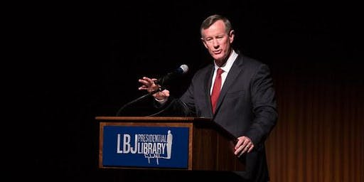 An Evening with Admiral William McRaven