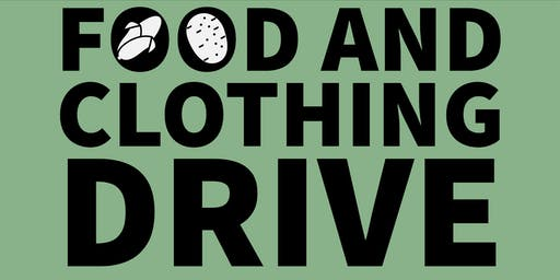 East + Ivy Food and Clothing Drive