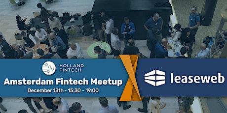 Holland FinTech Amsterdam MeetUp: December tickets