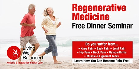 Free Regenerative Dinner Talk at Living Well Balanced tickets