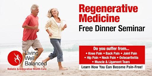 Free Regenerative Dinner Talk at Living Well Balanced