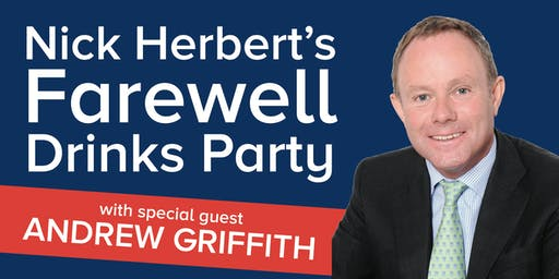 Nick Herbert's Farewell Drinks Party