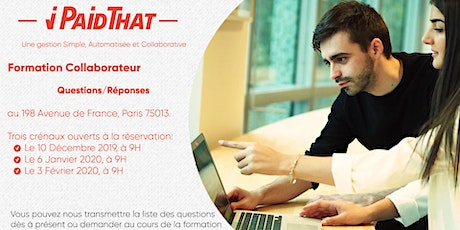 Formation Collaborateur tickets