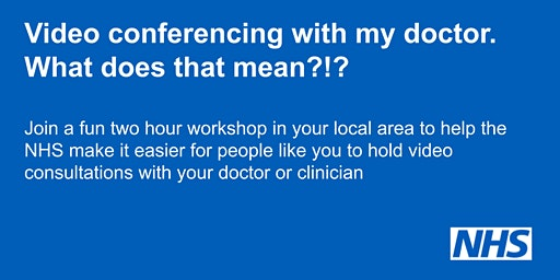 Video conferencing with my doctor. What does that mean?!?