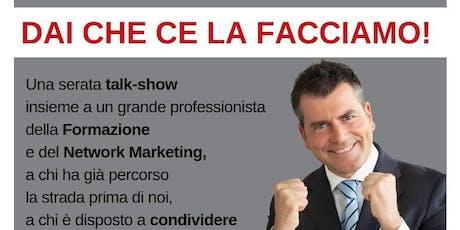 #DAICHECELAFACCIAMO con Gianluca Spadoni ! biglietti