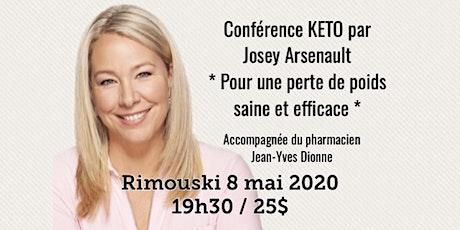 RIMOUSKI - Conférence KETO - Pour une perte de poids saine et efficace!  25$ billets