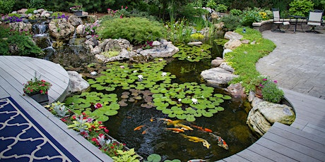 Landscaping Your Water Feature Seminar tickets