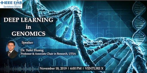 Deep Learning in Genomics