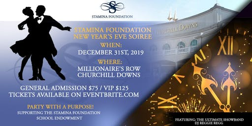 Stamina Foundation New Year's Eve Soiree