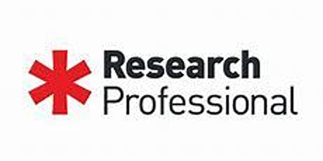 Research Professional Workshop Overview 10.30am 1hour tickets