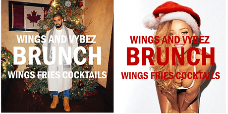 Wings and Vybez BRUNCH tickets