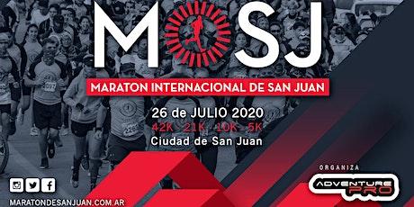 42 KM Maratón Internacional de San Juan 2020 entradas