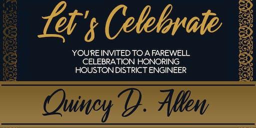 Let's Celebrate - Honoring Quincy Allen