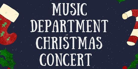 Music Department Christmas Concert tickets