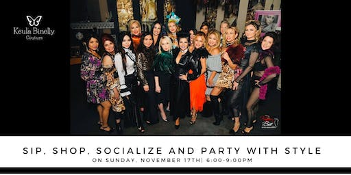 Sip, Shop, Socialize & Party with Style