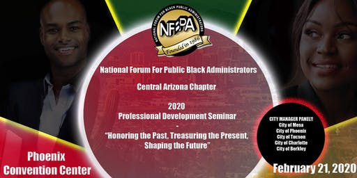 National Forum for Black Public Administrators 2020 Professional Development Seminar