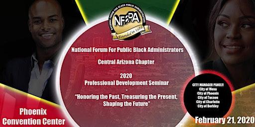 National Forum for Black Public Administrators 2020 Professional Development Seminar