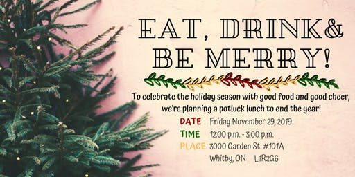 Whitby Office Holiday Pot Luck!