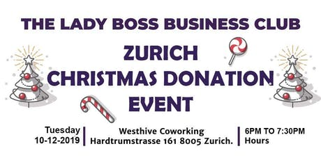 The Lady Boss Business Club Christmas Donation Event - By SEM tickets