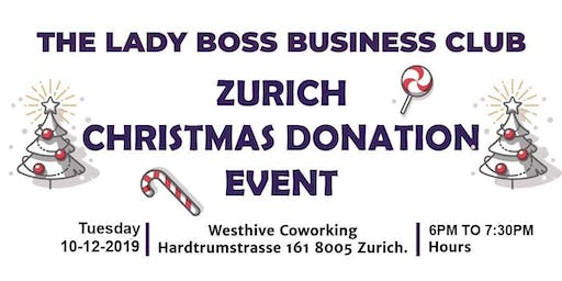 The Lady Boss Business Club Christmas Donation Event - By SEM