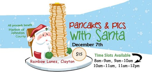 Pancakes & Pics with Santa