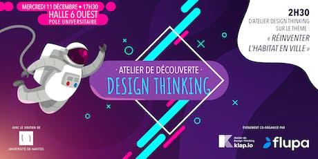 Atelier découverte du Design Thinking : réinventer l'habitat en ville billets