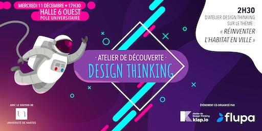 Atelier découverte du Design Thinking : réinventer l'habitat en ville