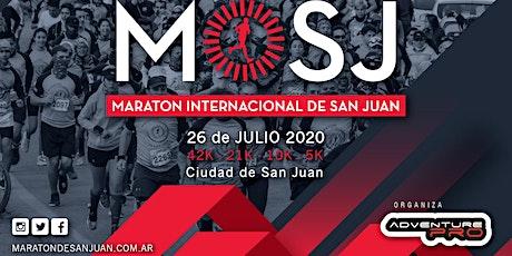 21 KM Maratón Internacional de San Juan 2020 entradas
