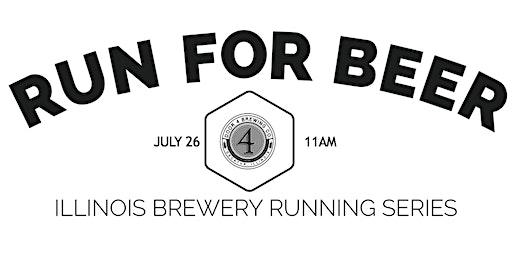Beer Run -Door 4 Brewing | Part of the 2020 Illinois Brewery Running Series