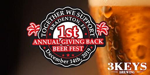 1st Annual Giving Back Beer Fest