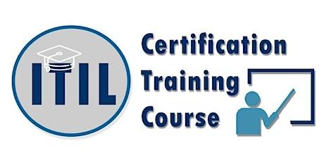 ITIL Foundation Certification Training in Regina, SK tickets