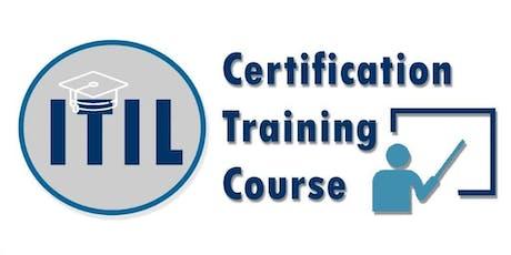 ITIL Foundation Certification Training in Winnipeg, MB  tickets