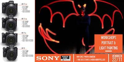 Workshops Studio Sony - Portrait & Light Painting