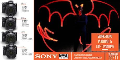 Workshops Studio Sony - Portrait & Light Painting billets