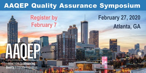 2020 AAQEP Quality Assurance Symposium