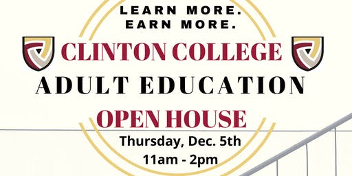 Clinton College Adult Education Information Session