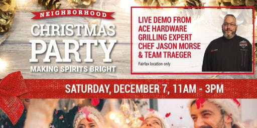 Christmas Party Goodie Bags at Twins Ace Hardware Fairfax