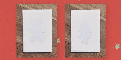 Children's Paint Your Own Christmas Card Workshop