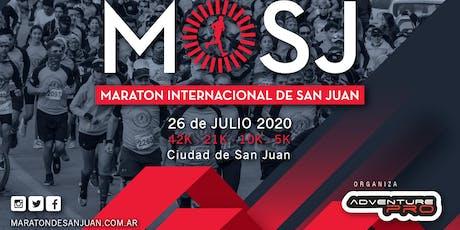 10KM Maratón Internacional de San Juan 2020 entradas