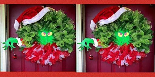 Grinch Wreath Making Night #2 -The Alibi Room