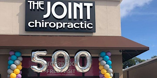 Grand Opening of The Joint Chiropractic S Orange Ave