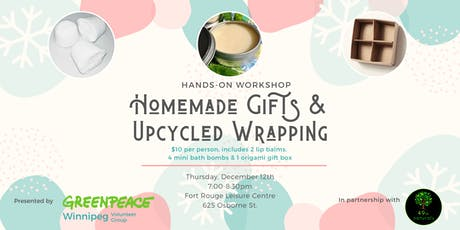 Homemade Gifts & Upcycled Wrapping Workshop tickets