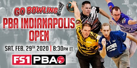 Go Bowling! PBA Indianapolis Open tickets