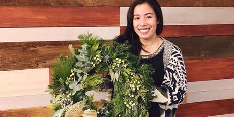 Fresh Holiday Wreath Workshop! with Alice's Table tickets