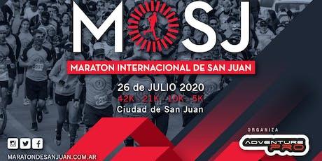 5KM Maratón Internacional de San Juan 2020 entradas