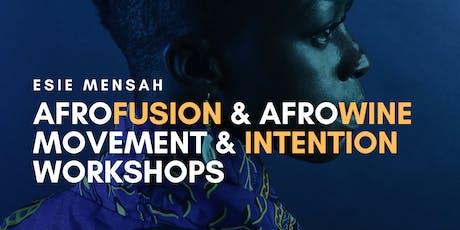 WEEKEND OF WORKSHOPS with Esie Mensah tickets