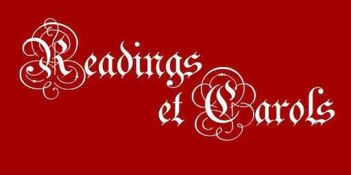Readings & Carols with The Astoria Choir