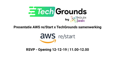 Officiële opening TechGrounds tickets