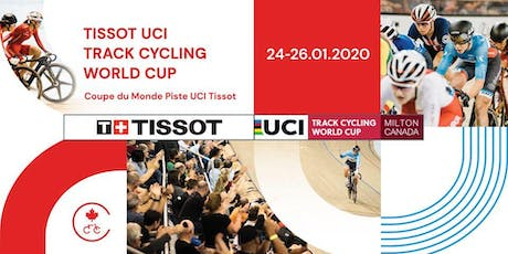 2020 UCI Track Cycling World Cup Milton tickets
