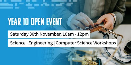 Year 10 Open Event tickets